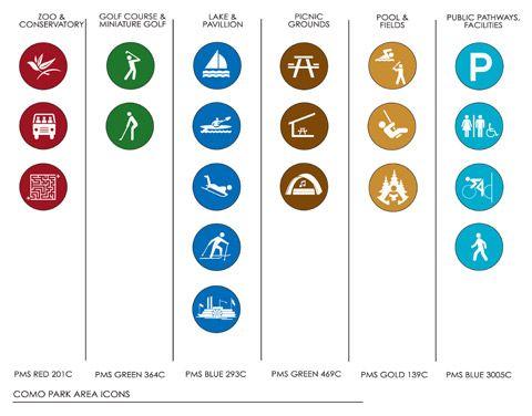 Visual Communications » Como Regional Park & City of St Paul Citywide Parks and Recreation Signage Master Plan Saint Paul, Minnesota