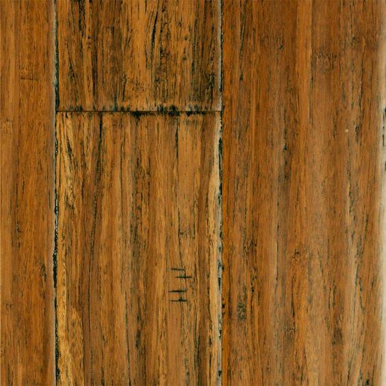 "Installing 5 8 Inch Bamboo Flooring: 9/16"" X 5-1/8"" Handscraped Honey Strand Bamboo"