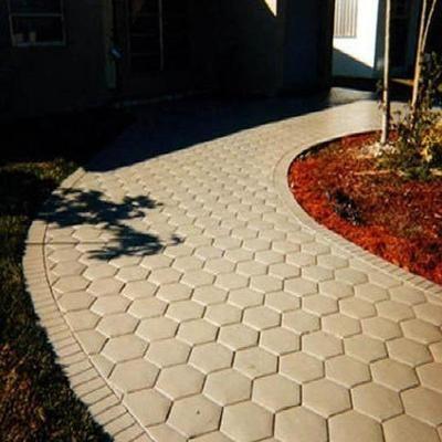 Amenitee Paving Mould Easy Path Patio Building Tool Concrete Patio Floor Molding Concrete Stone