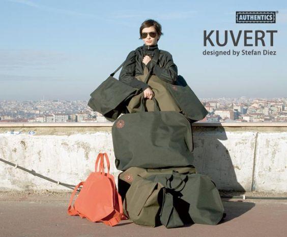 Kuvert Mesh bag S | Authentics mesh bag | Stefan Diez | Epure Design