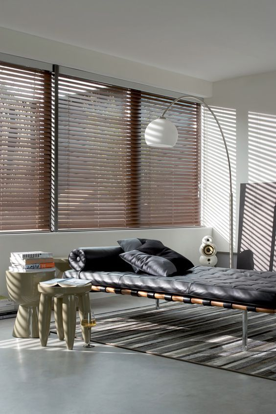 Bamboe Raamdecoratie Inrichting Huis Com Houten Jaloezieen Woonkamer Jaloezieen Raamdecoratie