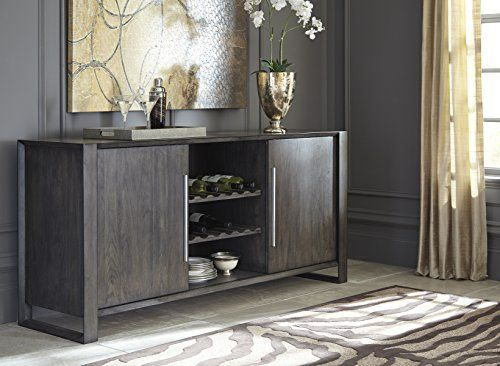 Chedoni Formal Wood Gray Color Dining Room Server Dining Room Server Grey Dining Room Wood Dining Room