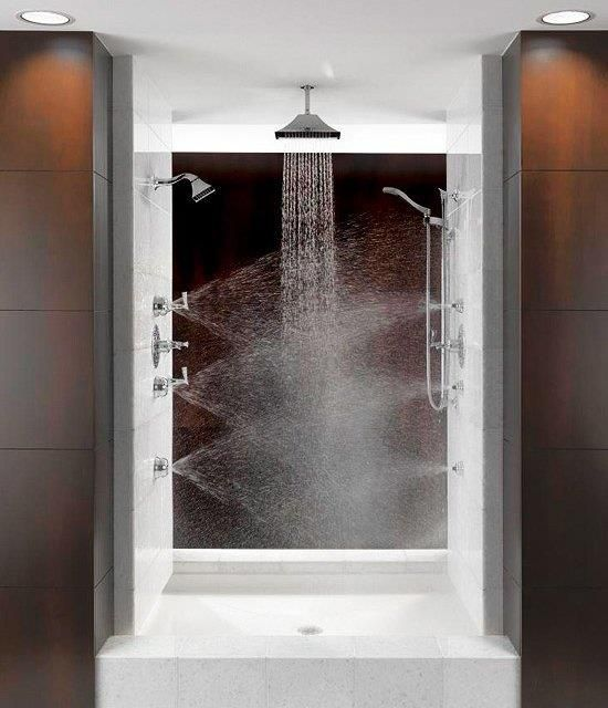 Now that\'s a shower!! | Bathroom Ideas | Pinterest | Future house ...