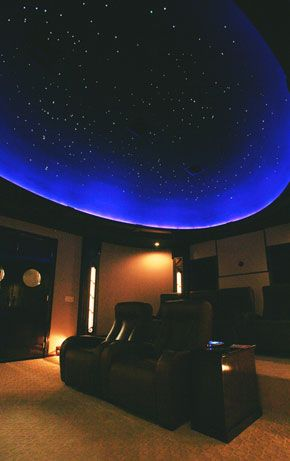 Our CineStarPanel™ Shooting Stars* add a fabulous interactive effect to any panel. http://www.cinemashop.com/3/star-ceilings.htm#