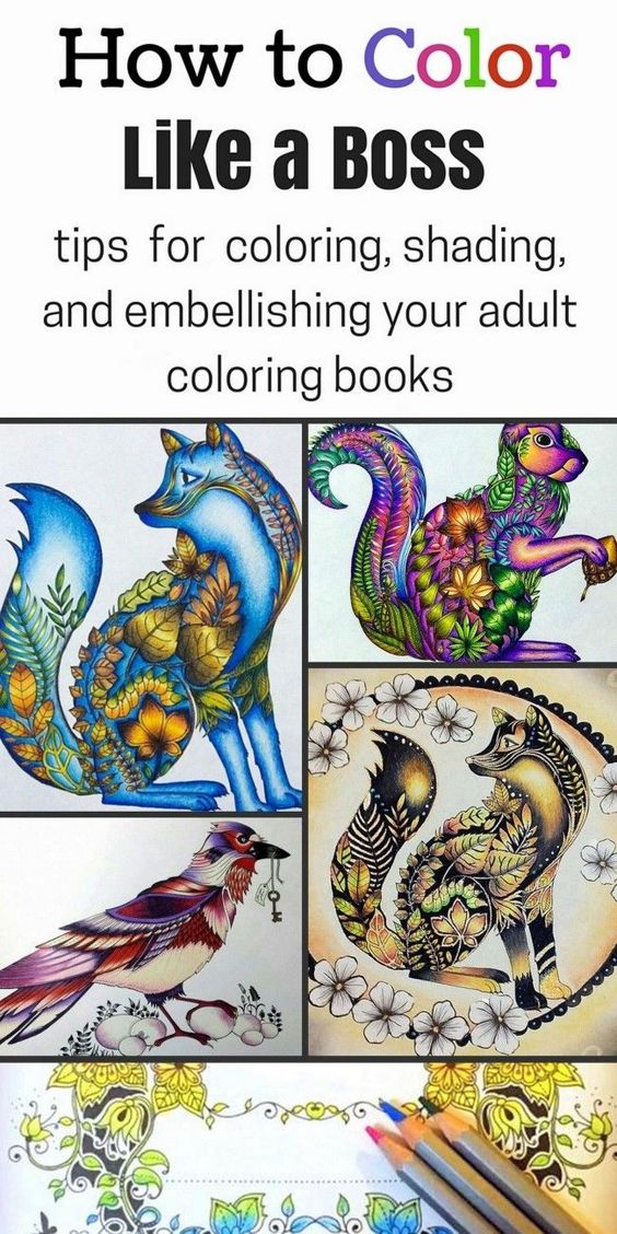 How to Color Like a Boss | Coloring books, Rock and Learning