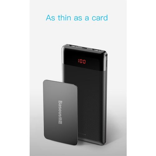 Baseus Mini CU Digital Ekranlı Powerbank Harici Şarj 10000 mAh Fiyatları ve  Özellikleri   Telefonlar, Cihaz, Gerçekler