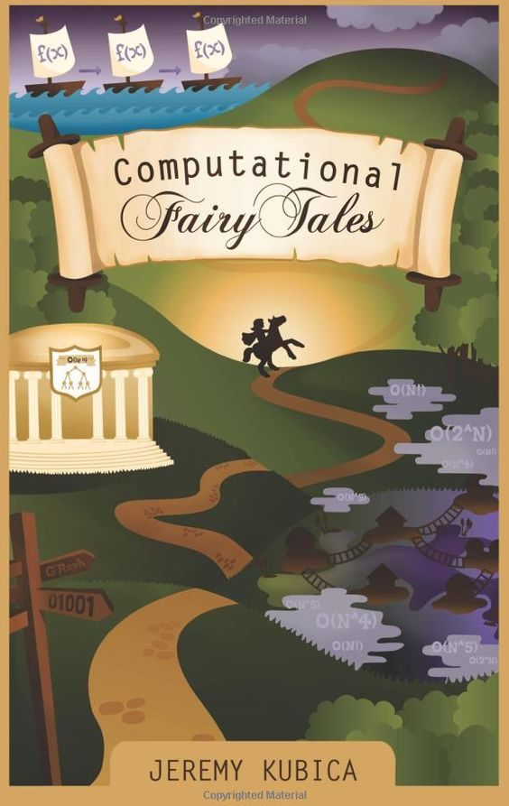 Computational Fairy Tales: over 70 stories introducing computer science concepts by Jeremy Kubica, such as Goldilocks and the Two Boolean Bears or The Ant and the Grasshopper: A Fable of Algorithms. Each provides an overview of a computer science concept. These include data structures, algorithms, introductory programming, and practical programming tips. Beginners levels are suitable for primary.