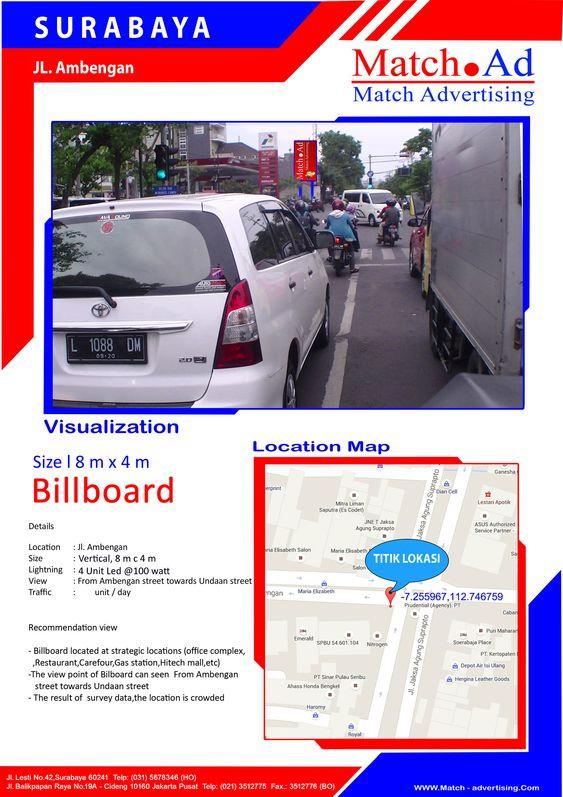 Surabaya Pusat, Jl. Ambengan (SPBU) - Billboard 8x4