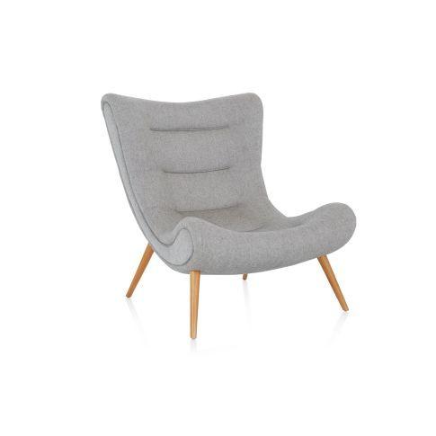 Ohrensessel Design mit Retro Hauch gemütliche Möbel für Ihr Home Office