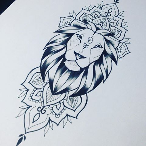 1001 Coole Lowen Tattoo Ideen Zur Inspiration 10