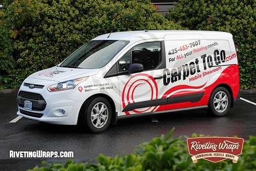 Connect With Customers This Custom Designed Transit Connect Van