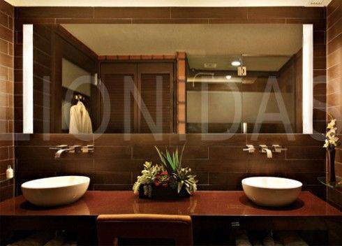 Badezimmerspiegel beleuchtet Pascal