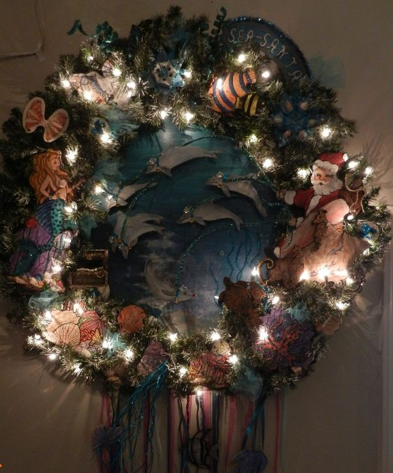 FOT's wreath creation by Artist, Jean Clark
