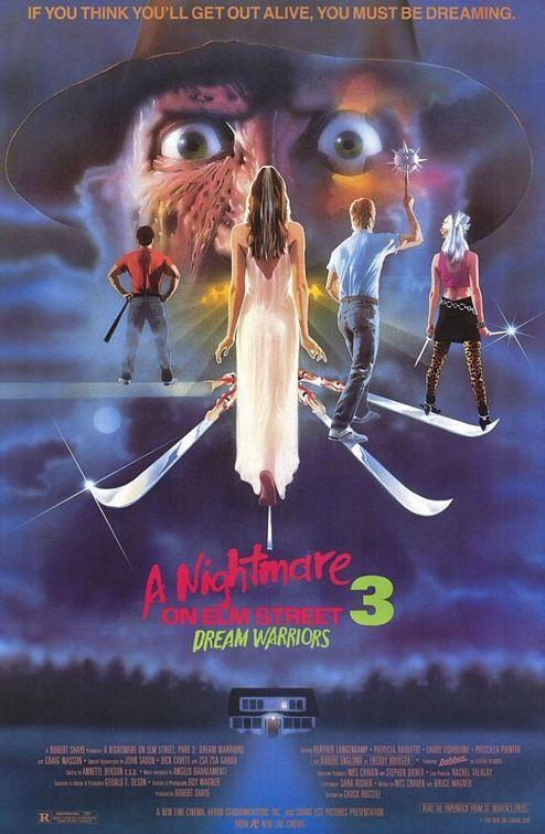 A Nightmare on Elm Street 3: Dream Warriors a good part 3 4****