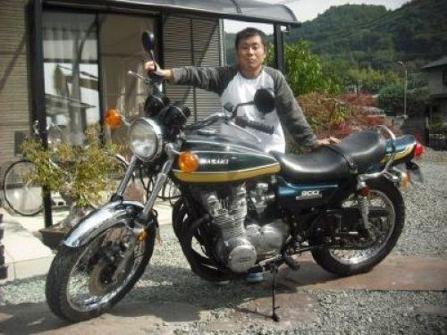 絶版車 旧車 バイク ウエマツ Uematsu Z1 オーダー製作車 カワサキ Z1 旧車バイク カワサキ 旧車