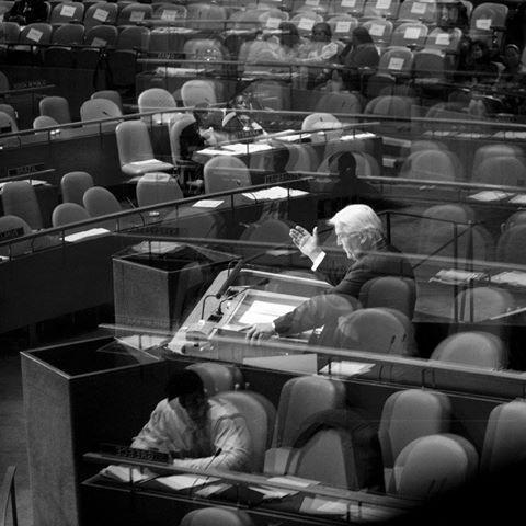 Frank-Walter Steinmeier , Ministerreise zur 63. Generalversammlung der Vereinten Nationen in New York, Rede vor den Vereinten Nationen