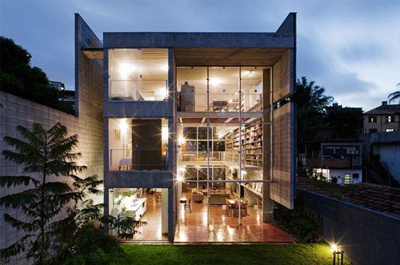 Querosene House by Alvaro Puntoni. Brazil