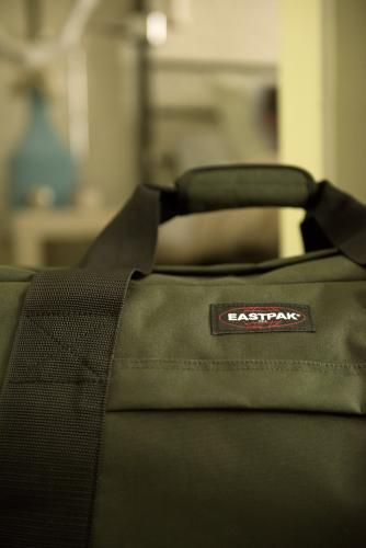 Check out the Eastpak Container 65 Army Socks Wheeled Luggage ...