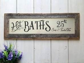 23 Super Ideas Farmhouse Signs Bathroom Barn Wood Bathroom Decor Signs Bathroom Signs Farmhouse Bathroom