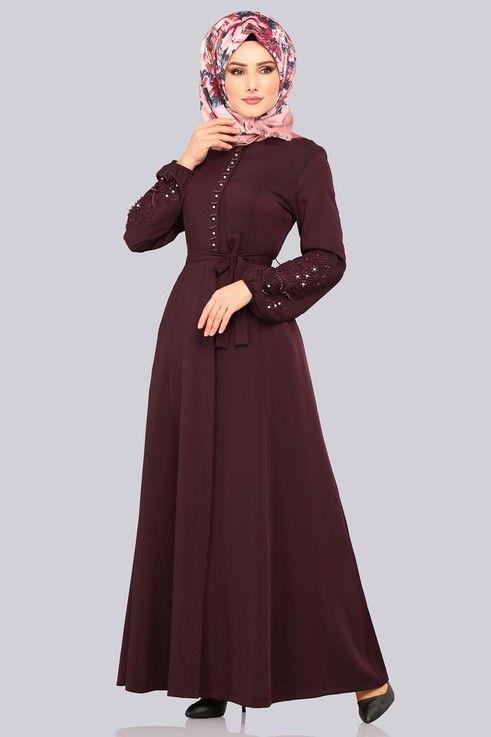 Modaselvim Ferace Incili Ferace 8760w153 Murdum Gaya Hijab Pakaian Hijab