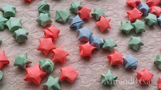 ℳirand0xxa: Estrellas de papel