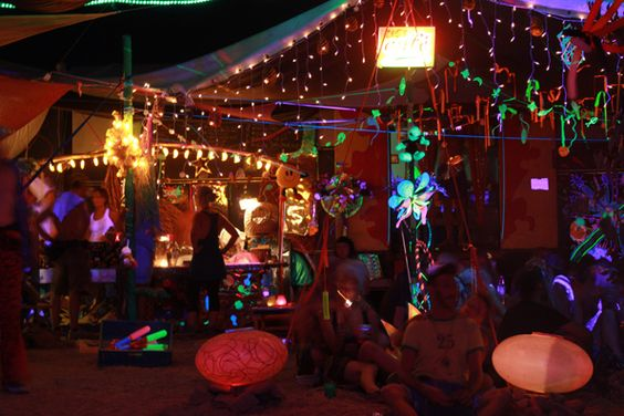 Psychedelic experience at Boom Festival