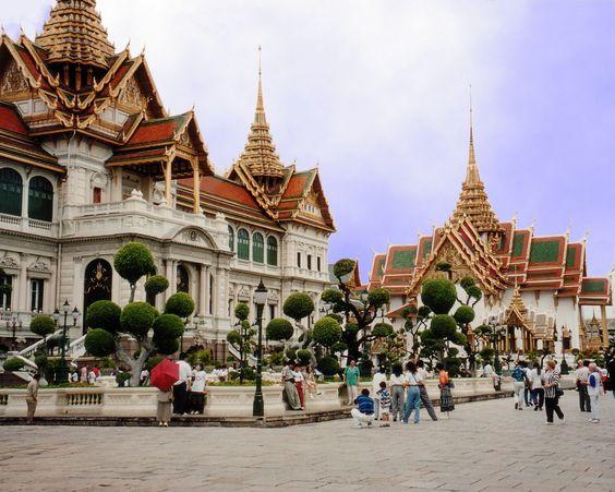 タイの素敵な街並みです。