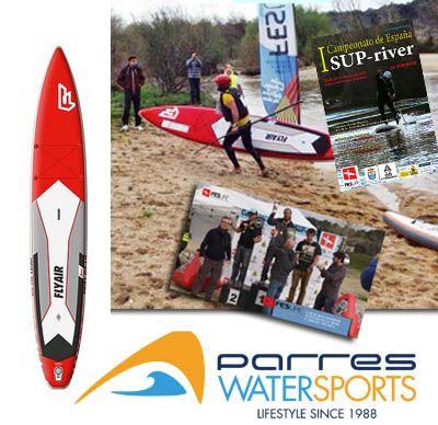 Paddle sup river, stand up paddle, primera prueba del campeonato nacional Sup Río de España, #paddlesup. http://bit.ly/1ByMTpU