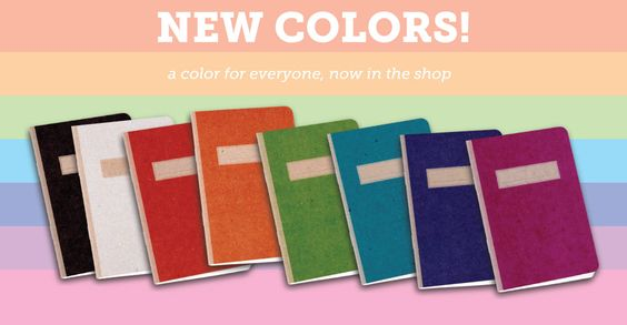 Make your own notebooks or books! Scout Books = Awesome!