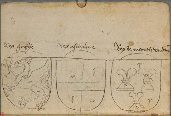 Ortenburger Wappenbuch Bayern, 1466 - 1473 Cod.icon. 308 u  Folio 227r