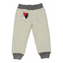 ASTON MARTIN - Pantalon gris