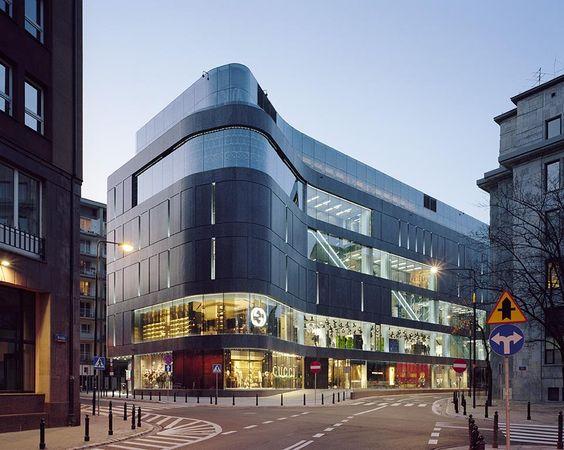 Wolf Bracka Department Store | Warszawa, Poland | KURYLOWICZ & ASSOCIATES