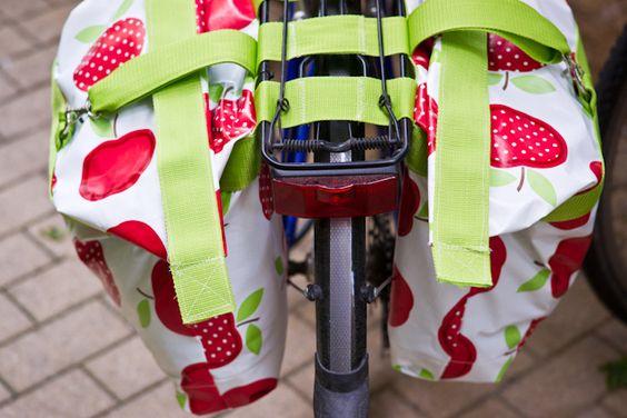 Tolle Idee: Fahrradtasche selbst nähen