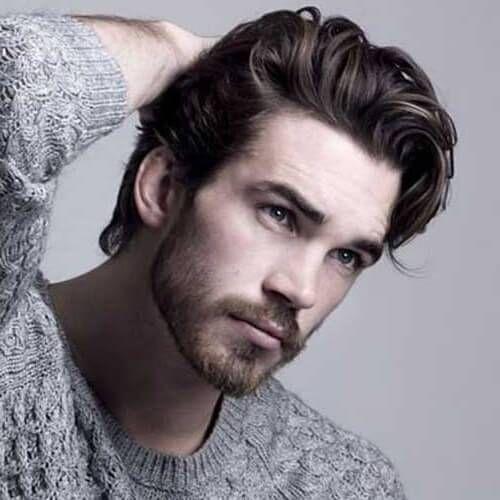 Erkek Sac Modelleri 17 Mens Hairstyles Thick Hair Long Hair