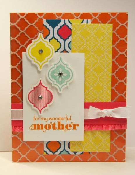 SC485 - For My Mother (SUO) by ReginaBD - Cards and Paper Crafts at Splitcoaststampers
