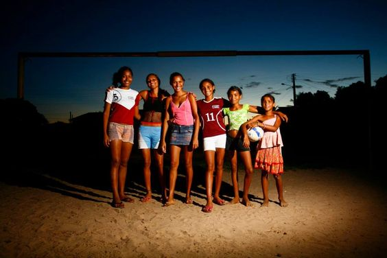 #futebolfeminino Foto: Leo Drummond — em Codó, Maranhao.