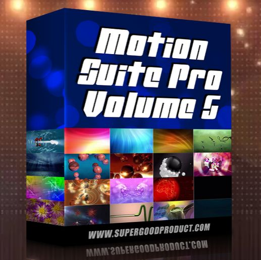 Motion Suite Pro V5 Review – High Quality Collection of 500 HD Motion Backgrounds That All Ready To Give Instant Enhancements To Any of Your Video Creation or Rich Media Project