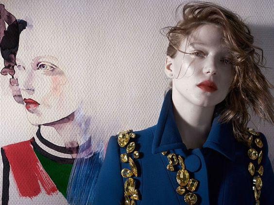 By Michelangelo di Battista for the February 2014 issue of Vogue Italia