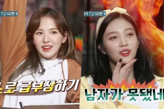 "Watch: Red Velvet's Wendy And Joy Are Fired Up For Their Challenge In ""Amazing Saturday"" Preview"