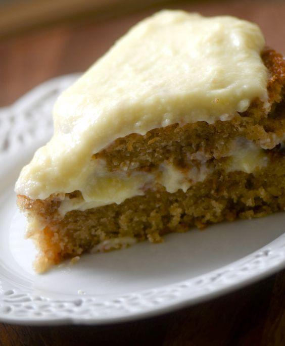 Banana Cake With Cream Cheese Frosting Food Network