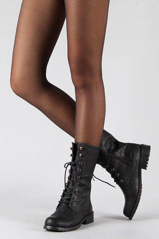 Combat #Boots | Shoe Fancy | Pinterest | Simple, Combat boots and ...