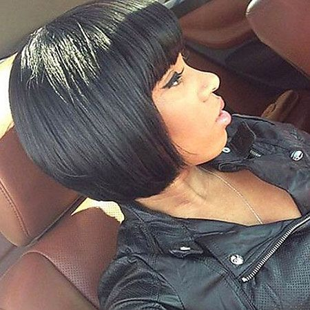 28 Short Haircuts For Black Women In 2020 Short Human Hair Wigs Wig Hairstyles Bob Hairstyles