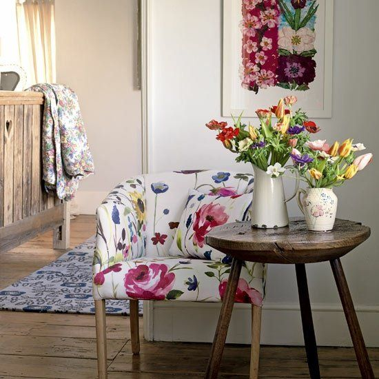 deco spring floral elements