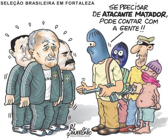 Post  Fala Sério!   : CHARGE DE SEGUNDA -FEIRA !
