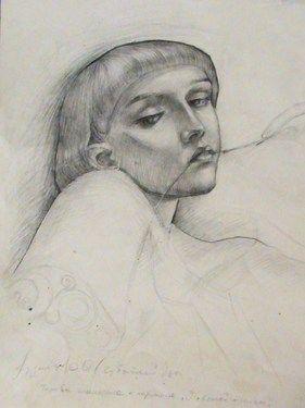 "Saatchi Online Artist Oleg Chubaty; Drawing, ""нет"" #art"