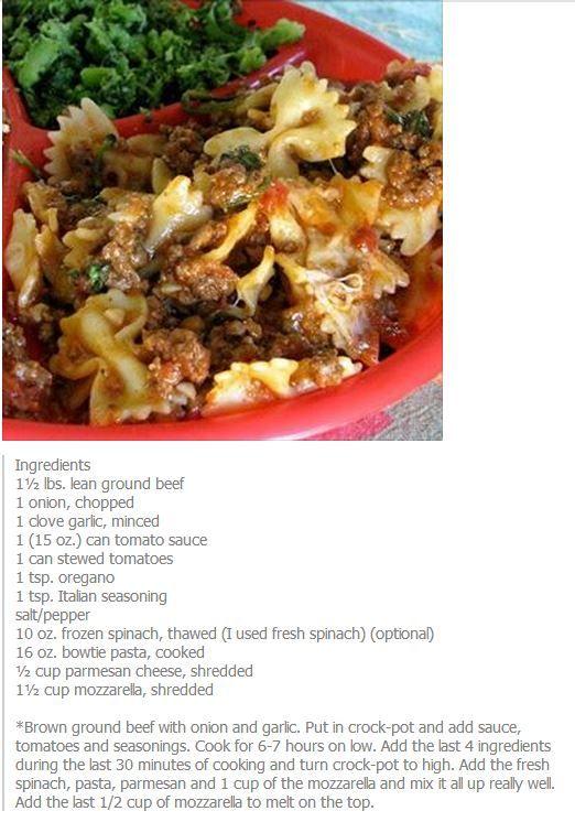 Ground Beef Bowtie Casserole For Dinner Tonight Super