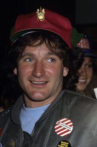 Robin Williams circa 1978 © 1978 Gary Lewis