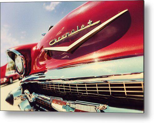 Showy Oldie Metal Print By Caitlyn Grasso 57 Chevy Bel Air Metal Prints Oldies