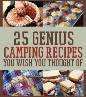 Campfire Cooking Recipes | Best, Easy Campfire Cooking Ideas | 25 Snacks You'll Want To Pack For Your Next Camping Trip By DIY Ready