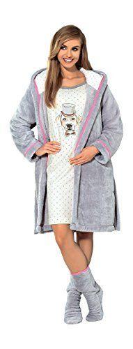 Womens Luxury SOFT Bath Robe Housecoat Dressing Gown Bathrobe with Belt and Hood, Knee Length Size S M L XL, http://www.amazon.co.uk/dp/B00P97UACC/ref=cm_sw_r_pi_awdl_zEMBub09GHQ0V